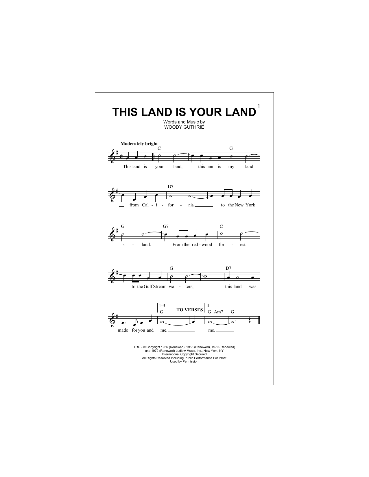 this land is your land free download