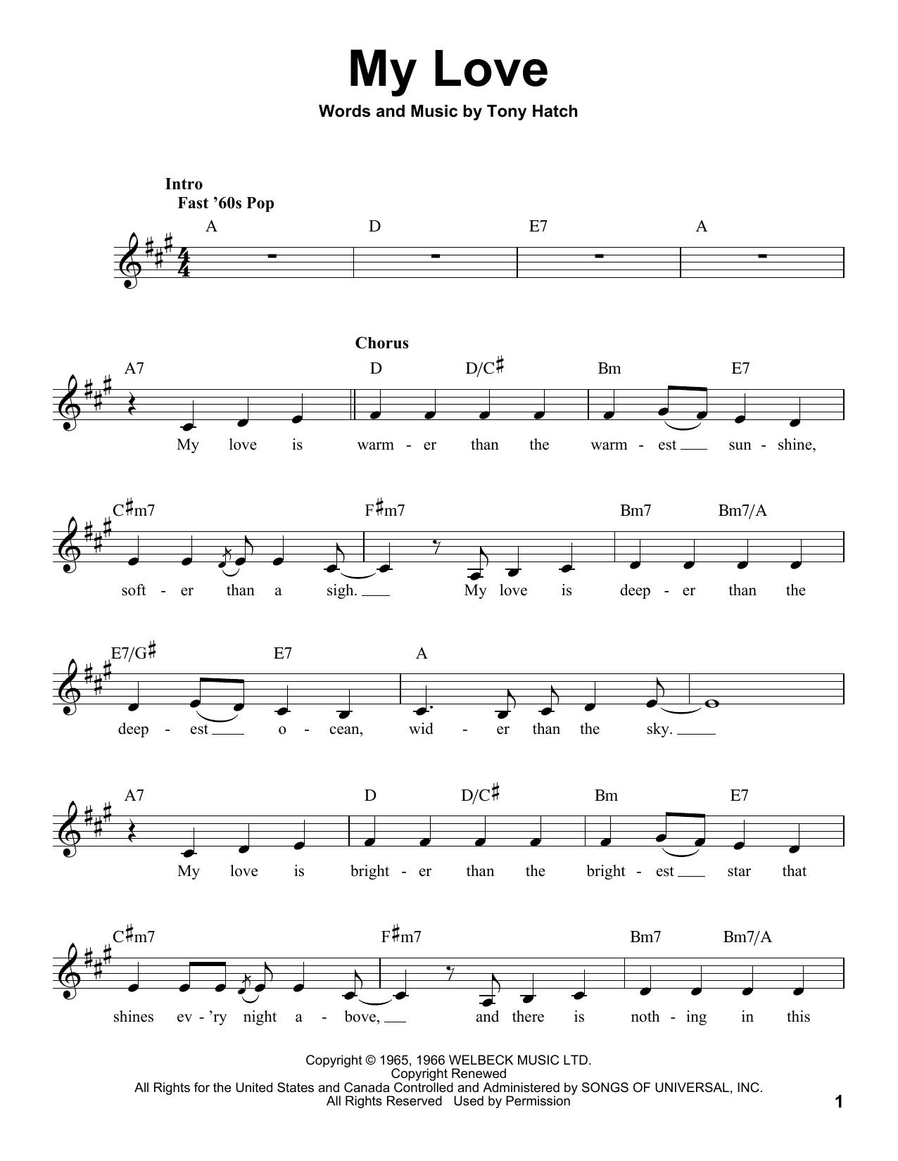 My Love (Pro Vocal)