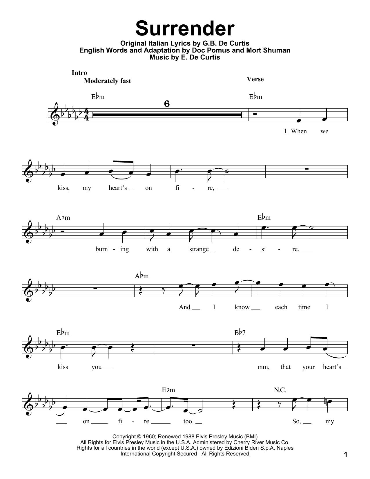 Surrender (Pro Vocal)