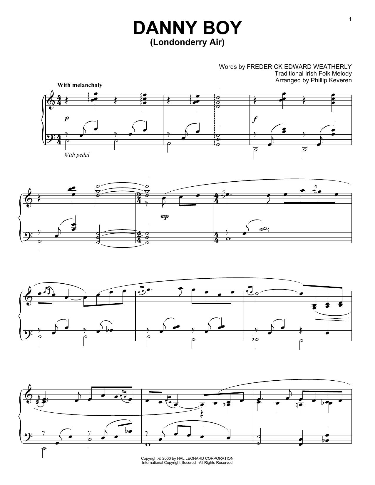 Danny Boy (Piano Solo)