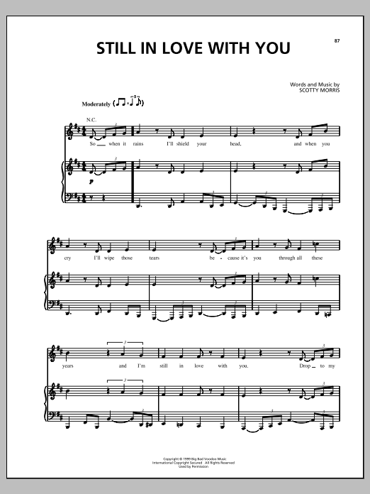 Still In Love With You Sheet Music