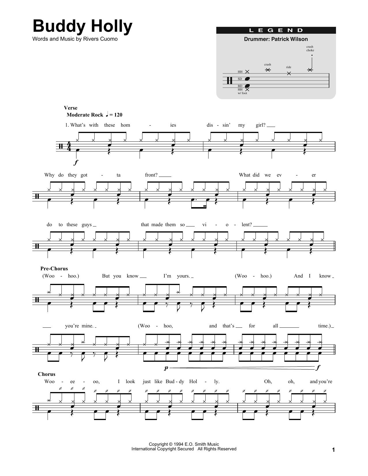 Buddy Holly Digitale Noten