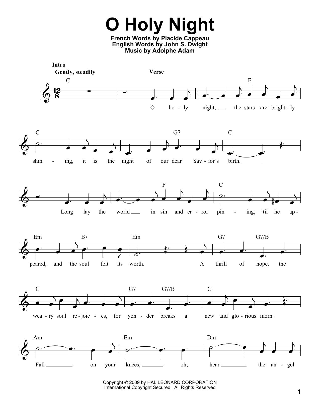 O Holy Night (Pro Vocal)