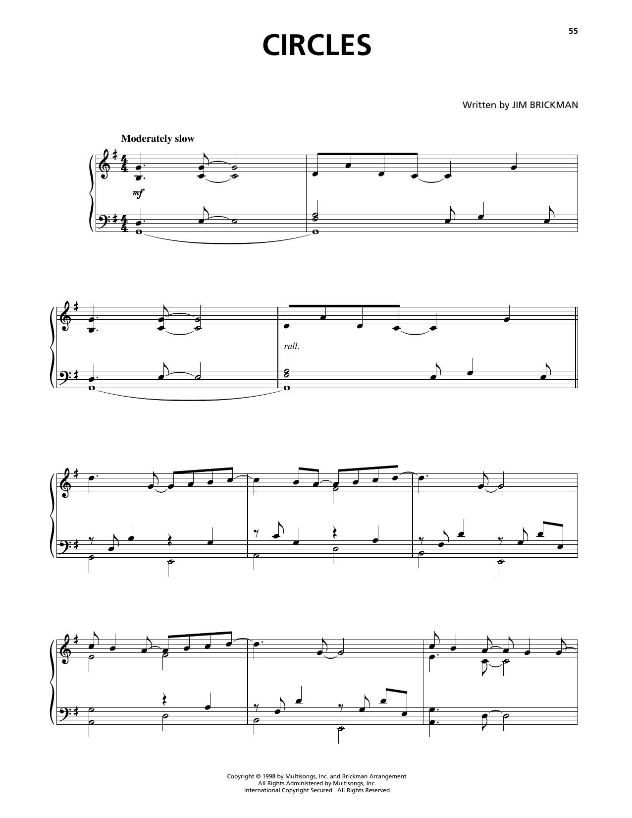 Circles (Piano Solo)