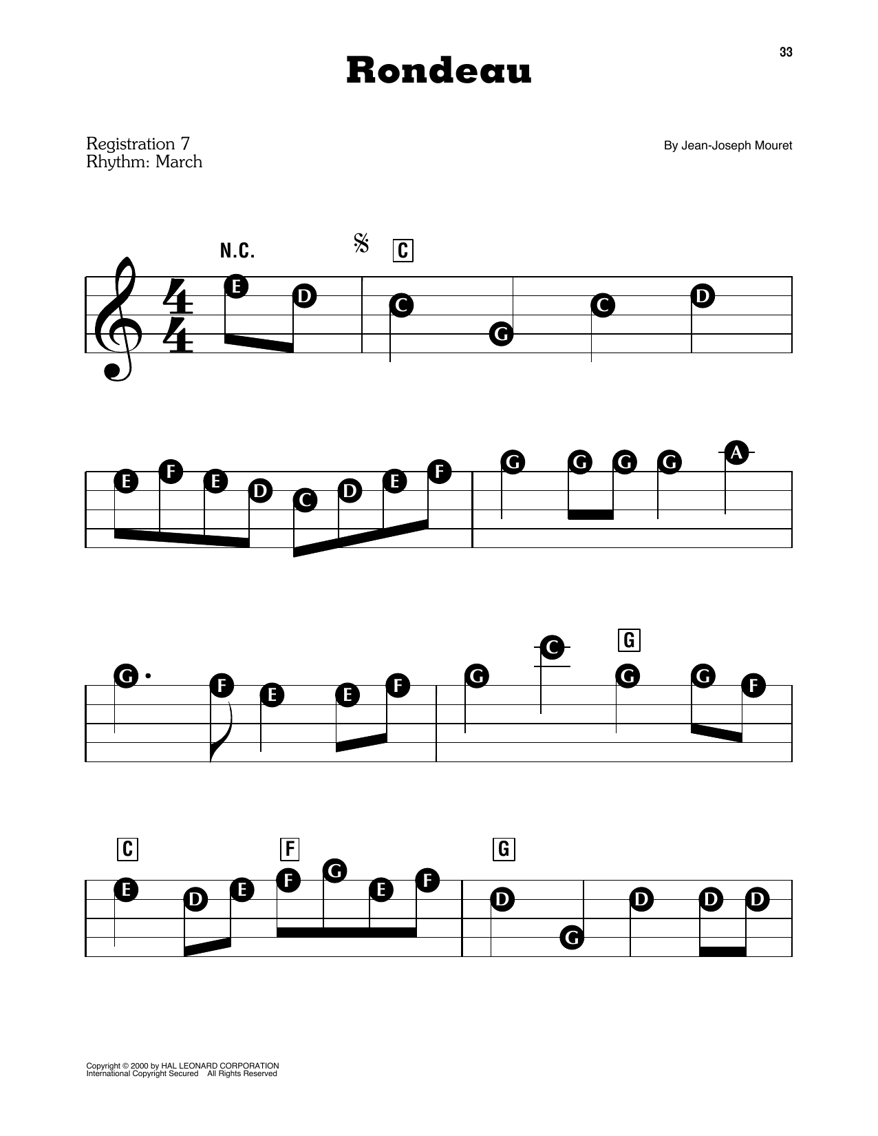 Fanfare Rondeau (E-Z Play Today)