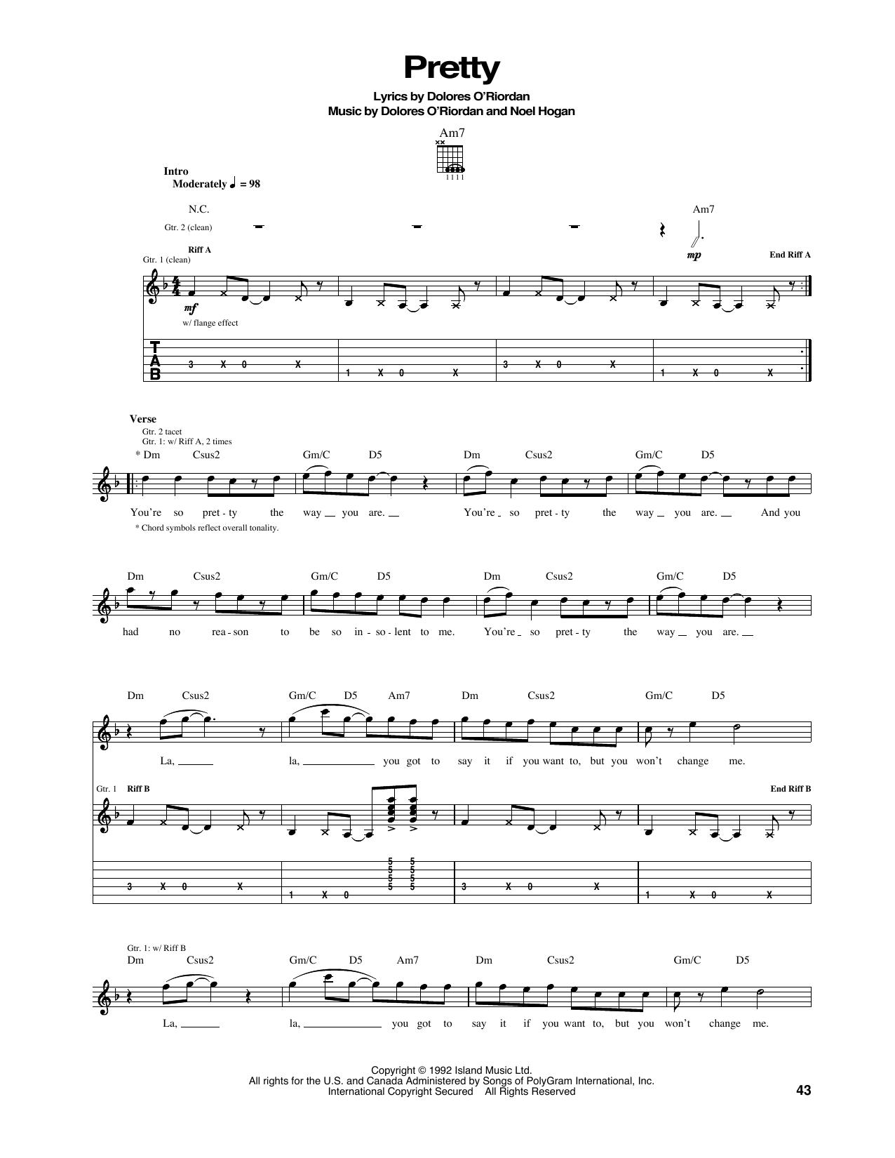 Pretty Sheet Music
