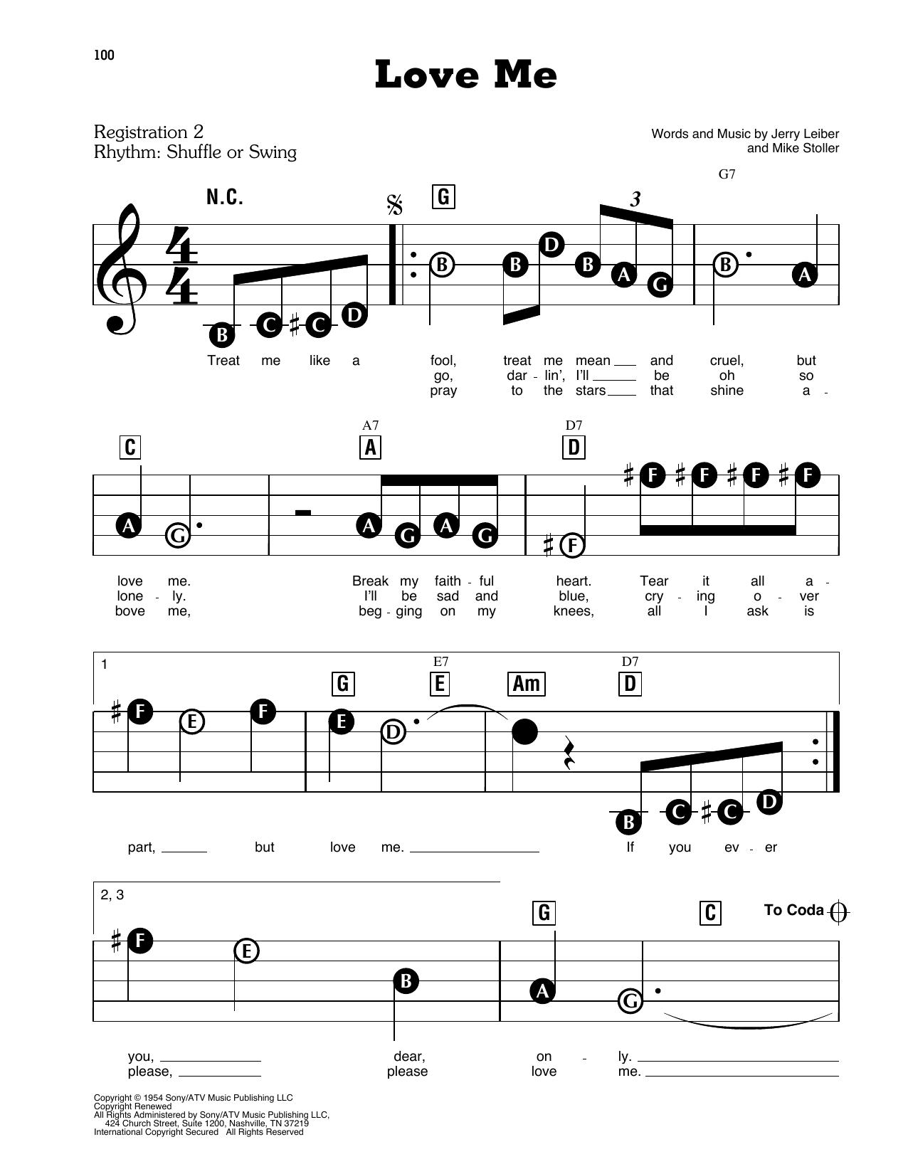 Love Me (E-Z Play Today)