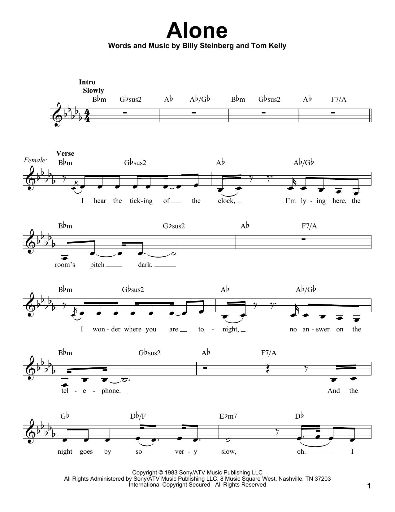 Alone (Pro Vocal)