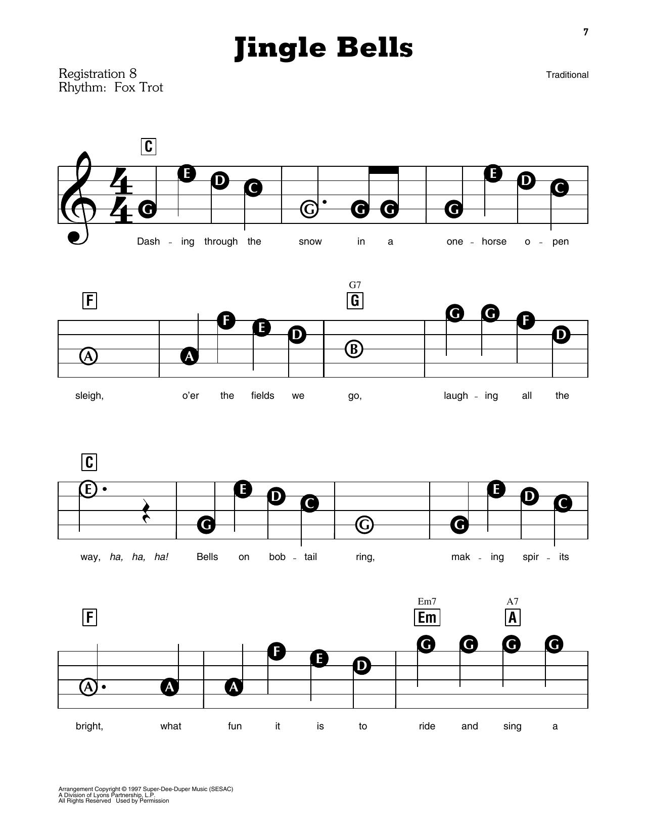 Jingle Bells (E-Z Play Today)