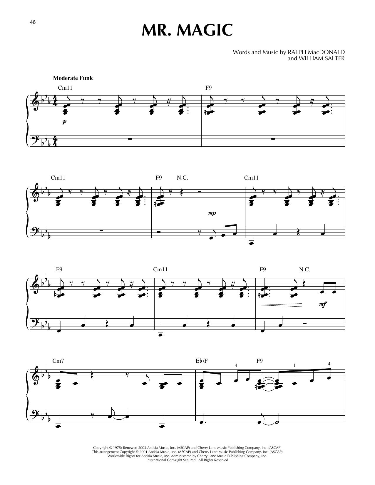 Mr. Magic Sheet Music