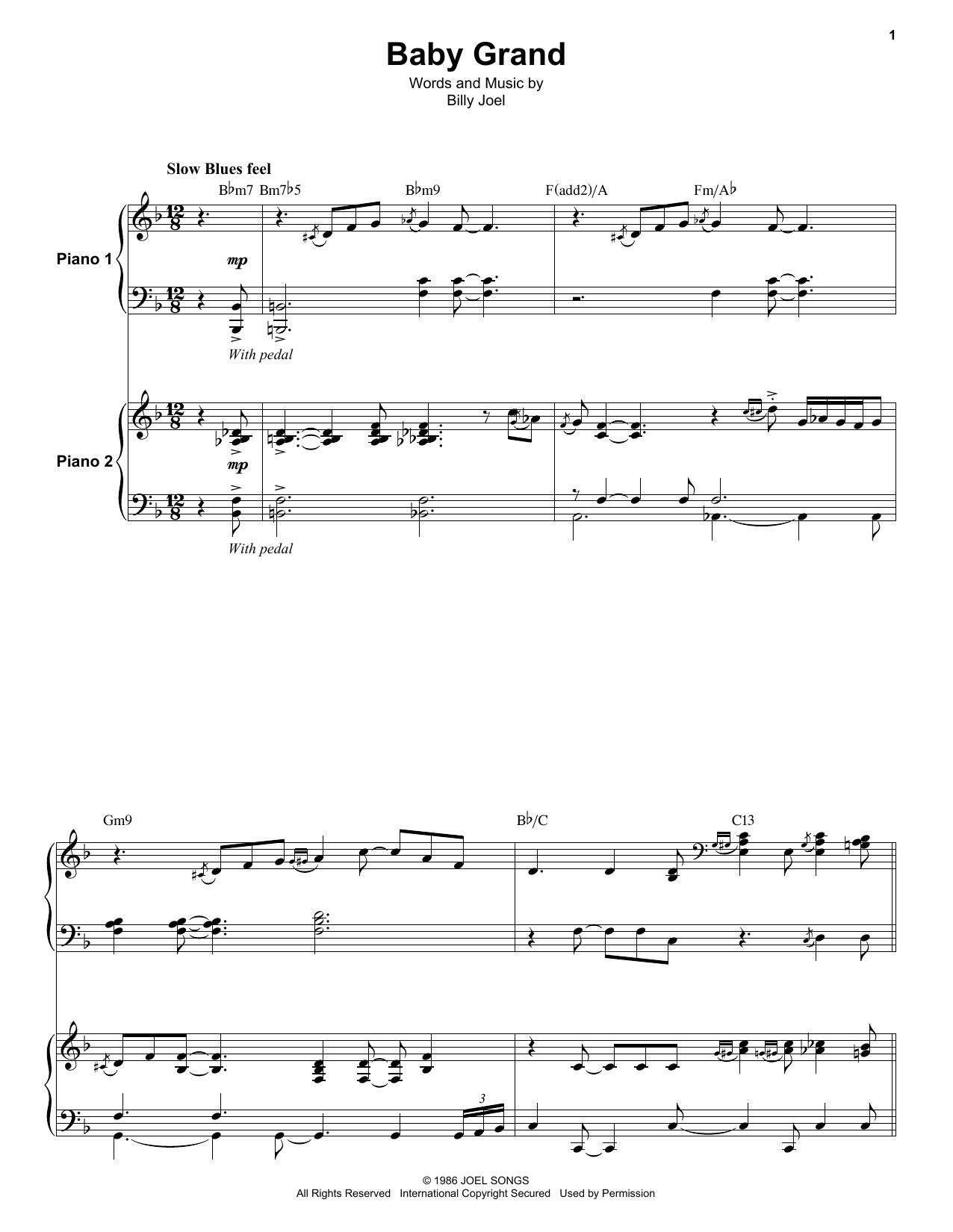Baby Grand Sheet Music
