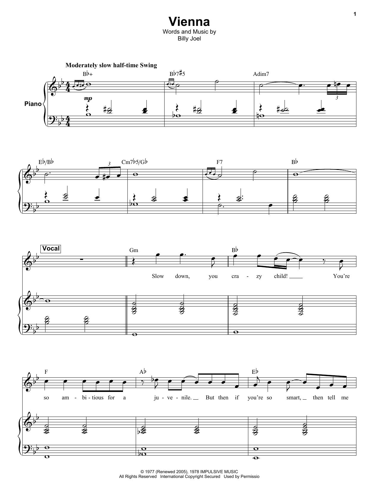 Vienna Sheet Music