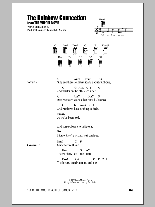 The Rainbow Connection : Sheet Music Direct