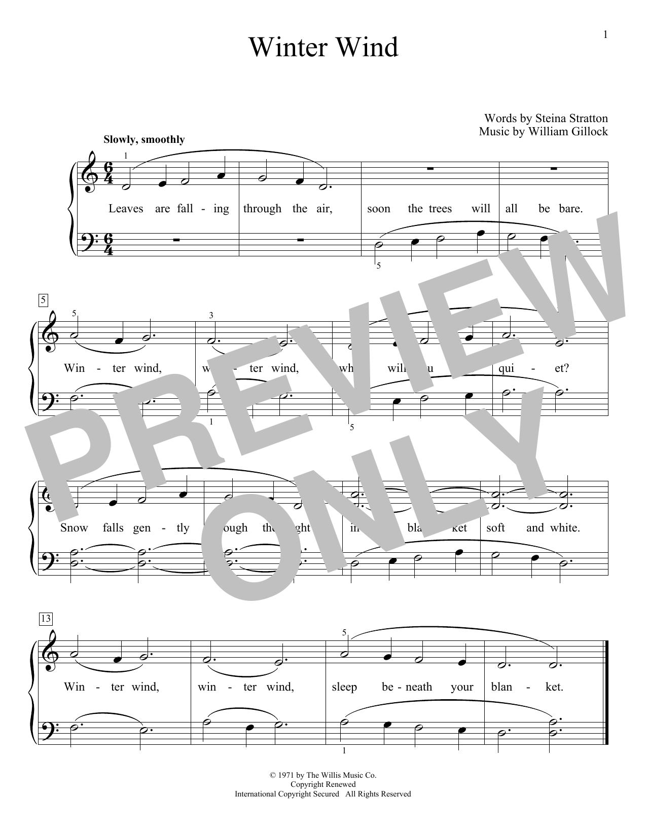 Winter Wind (Educational Piano)