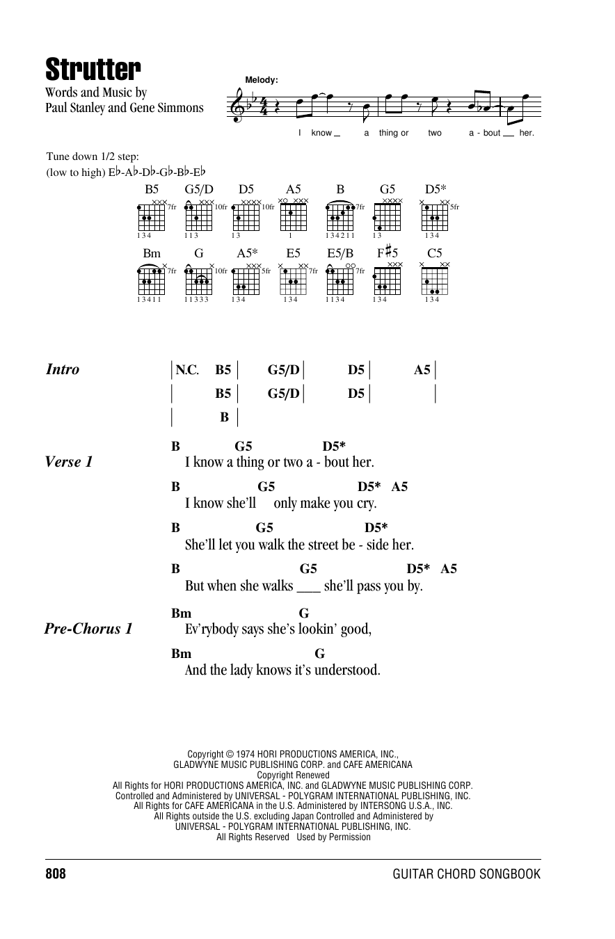 HOLD ME, THRILL ME, KISS ME Chords - Gloria Estefan | E-Chords