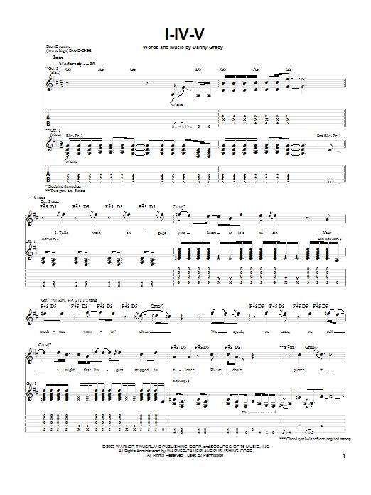 I-IV-V (Guitar Tab)