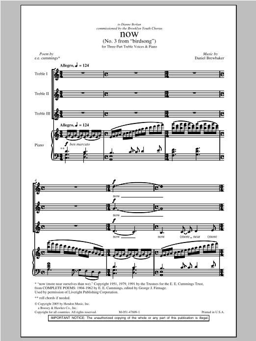 Now (2-Part Choir)
