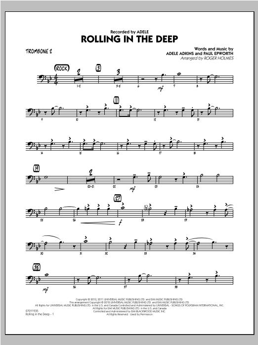 Rolling in the Deep - Trombone 2 (Jazz Ensemble)