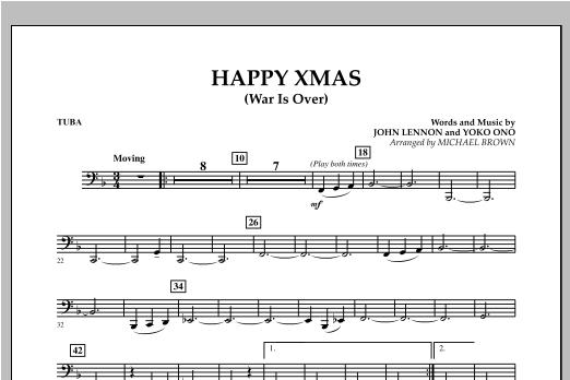 Happy Xmas (War Is Over) - Tuba (Concert Band)