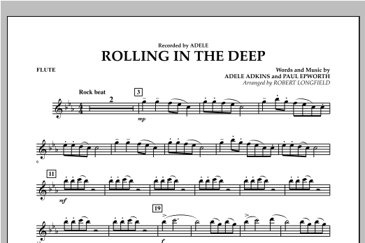 Rolling in the Deep - Flute (Concert Band)