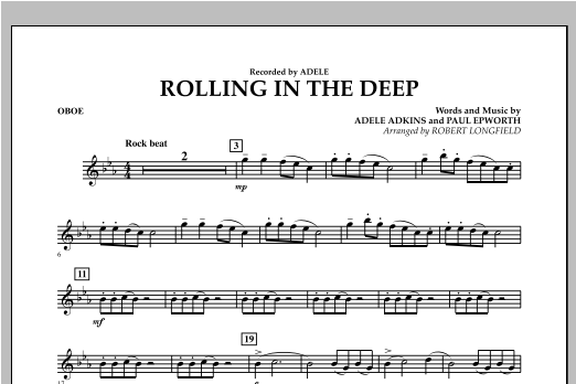 Rolling in the Deep - Oboe (Concert Band)