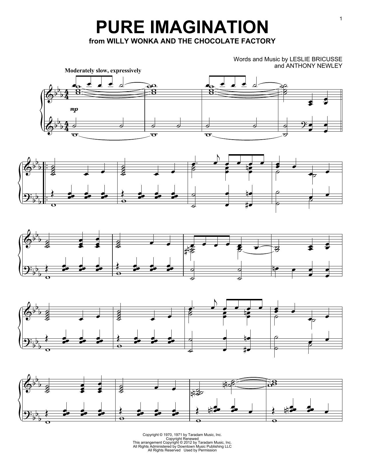 Pure Imagination (Piano Solo)