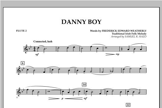 Danny Boy - Flute 2 Sheet Music