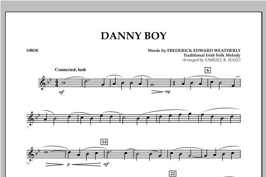 Danny Boy - Oboe Sheet Music
