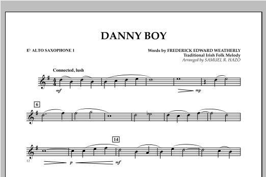 Danny Boy - Eb Alto Saxophone 1 Sheet Music
