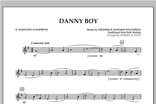 Danny Boy - Eb Baritone Saxophone Sheet Music
