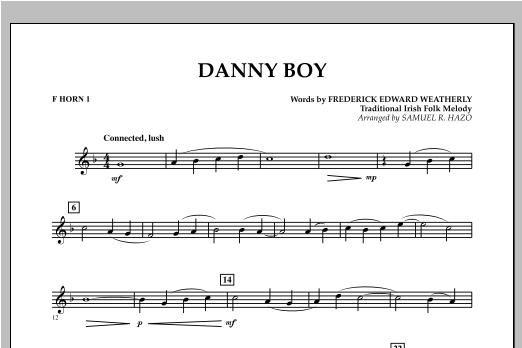 Danny Boy - F Horn 1 Sheet Music