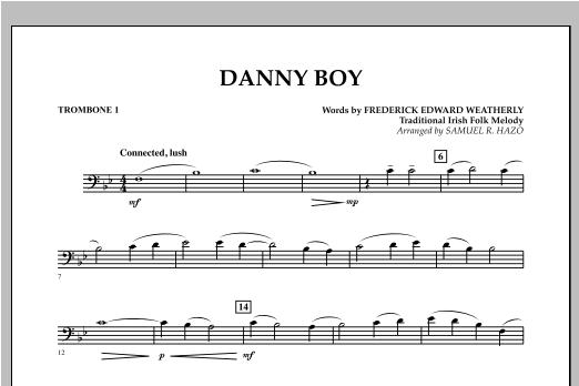 Danny Boy - Trombone 1 Sheet Music