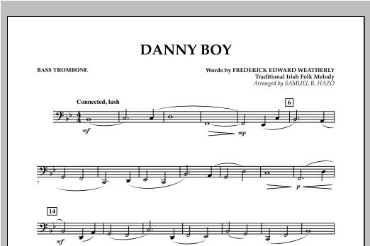 Danny Boy - Bass Trombone Sheet Music