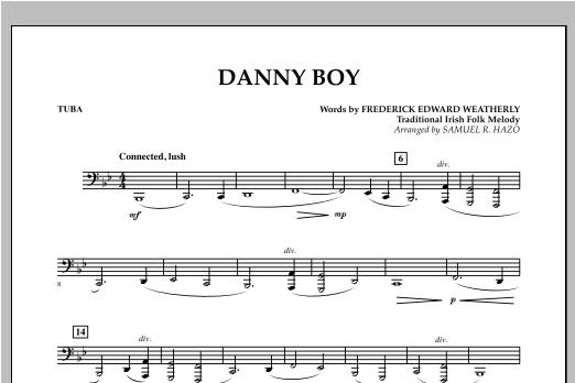 Danny Boy - Tuba Sheet Music