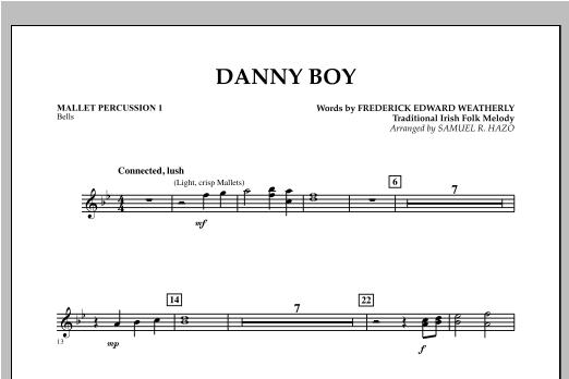 Danny Boy - Mallet Percussion 1 Sheet Music