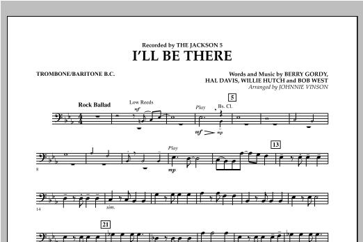 I'll Be There - Trombone/Baritone B.C. Sheet Music