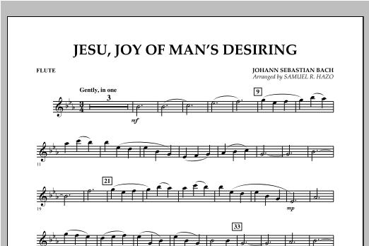 Jesu, Joy Of Man's Desiring - Flute Sheet Music