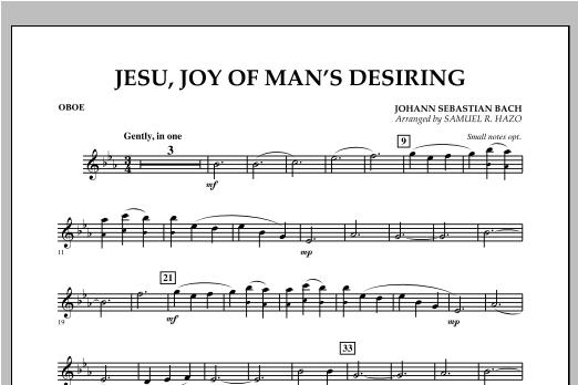 Jesu, Joy Of Man's Desiring - Oboe Sheet Music