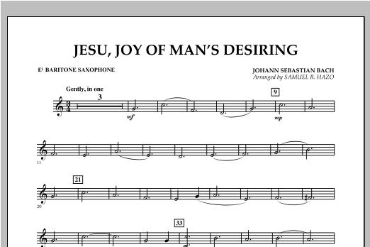 Jesu, Joy Of Man's Desiring - Eb Baritone Saxophone Sheet Music