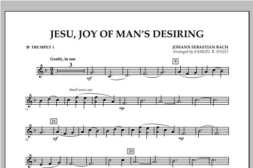 Jesu, Joy Of Man's Desiring - Bb Trumpet 1 Sheet Music