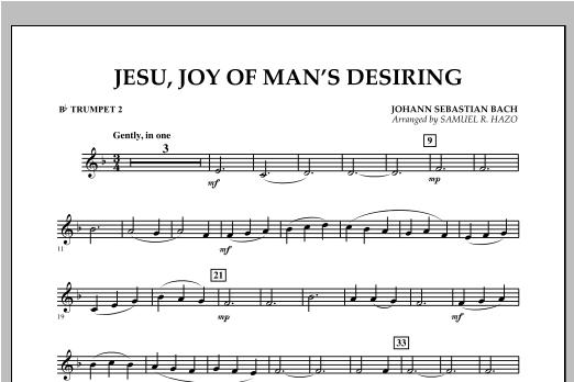 Jesu, Joy Of Man's Desiring - Bb Trumpet 2 Sheet Music