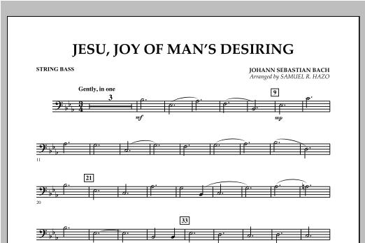 Jesu, Joy Of Man's Desiring - String Bass Sheet Music