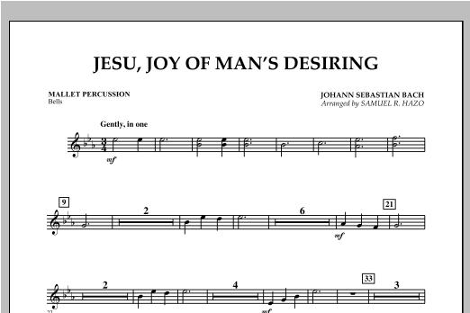 Jesu, Joy Of Man's Desiring - Mallet Percussion Sheet Music