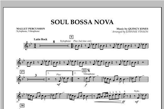 Soul Bossa Nova - Mallet Percussion Sheet Music