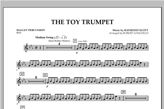 Toy Trumpet (Trumpet Solo & Section Feature) - Mallet Percussion Sheet Music