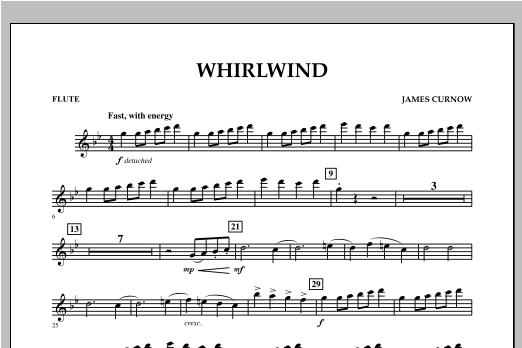 Whirlwind - Flute Sheet Music