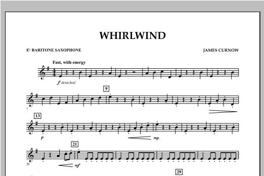 Whirlwind - Eb Baritone Saxophone Sheet Music