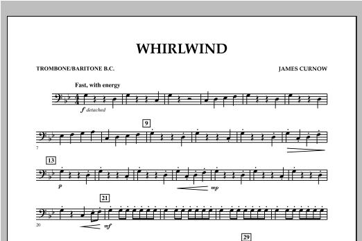 Whirlwind - Trombone/Baritone B.C. Sheet Music