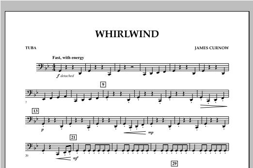 Whirlwind - Tuba Sheet Music