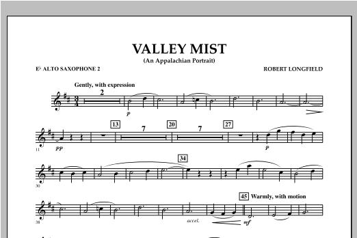 Valley Mist (An Appalachian Portrait) - Eb Alto Saxophone 2 Sheet Music